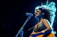 SAO PAULO, 25 DE MAIO DE 2012 - PAULA FERNANDES CREDICARD HALL - Cantora Paula Fernandes em show no Credicard Hall, na noite desta sexta feira, regiao sul da capital   FOTO: ALEXANDRE MOREIRA - BRAZIL PHOTO PRESS