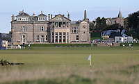 View of the R&A Golf Club building during the practice days before the 2014 Alfred Dunhill Links Championship, The Old Course, St Andrews, Fife, Scotland. Picture:  David Lloyd / www.golffile.ie