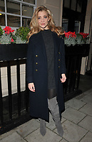 Natalie Dormer at the &quot;Venus in Fur&quot; evening performance theatre cast stage door departures, Theatre Royal Haymarket, Suffolk Street, London, England, UK, on Tuesday 31 October 2017.<br /> CAP/CAN<br /> &copy;CAN/Capital Pictures /MediaPunch ***NORTH AND SOUTH AMERICAS ONLY***