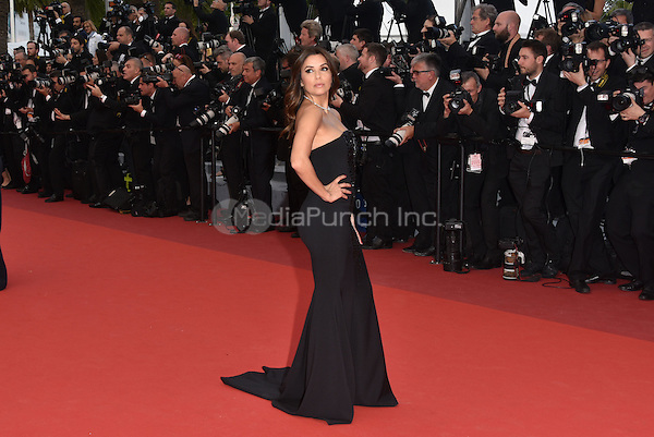 CANNES, FRANCE - MAY 12: Eva Longoria at &acute;Money Monster` screening - 69th Cannes Film Festival, France May 12, 2016.<br />