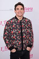 "Max Evans at the ""I, Tonya"" premiere at the Curzon Mayfair, London, UK. <br /> 15 February  2018<br /> Picture: Steve Vas/Featureflash/SilverHub 0208 004 5359 sales@silverhubmedia.com"