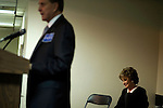September 12, 2008. Cary, NC..  Responding to the highly contested race for the US Senate seat of North Carolina, between herself and Kay Hagan, incumbent Elizabeth Dole held a rally at the VFW hall in Cary to raise support for local Republican candidates and the presidential ticket of John McCain and Sarah Palin.. Dole was joined by her husband, and former Senator and presidential candidate, Bob Dole, who spoke to the gathered audience.