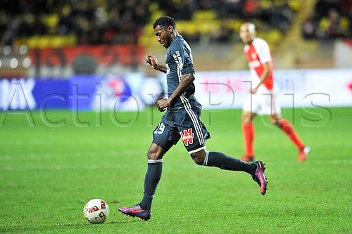 26.11.2016. Monaco, France. French League 1 football. Monaco versus Marseille.  ANDRE FRANK ZAMBO ANGUISSA (om)