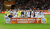 USA Team.  Japan won the FIFA Women's World Cup on penalty kicks after tying the United States, 2-2, in extra time at FIFA Women's World Cup Stadium in Frankfurt Germany.
