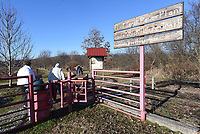 A bird-watching field trips gets started in February at the Eagle Watch Nature Trail. Northwest Arkansas Audubon Society regularly visits the trail. All are welcome on society field trips. Audubon membership is not required.<br />