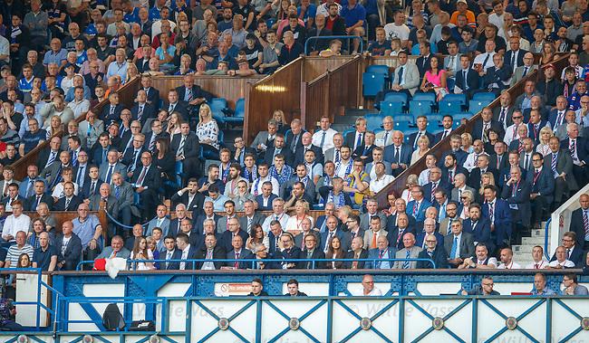 12.07.18 Rangers v FK Skhupi: Rangers directors box