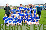 Laune Rangers U13 team who got to the final of the Oaklands Daybreak sponsored Rose cup tournament last Saturday at Healy Pk,Tralee.