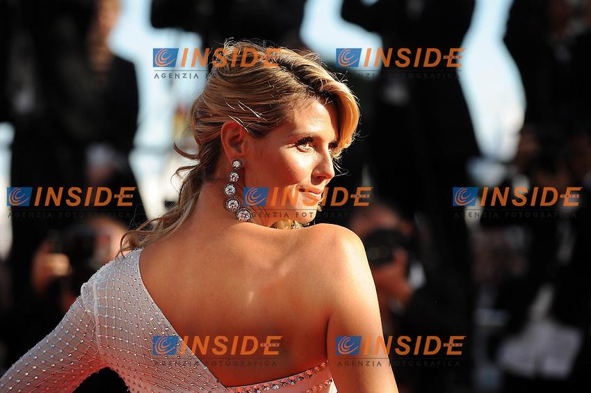 Heidi Klum. .Cannes 23/5/2013 .66mo Festival del Cinema di Cannes 2013 .Foto Panoramic / Insidefoto .ITALY ONLY