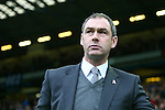 Paul Clement, manager of Derby - Sheffield Wednesday vs Derby County - Skybet Championship - Hillsborough - Sheffield - 06/12/2015 Pic Philip Oldham/SportImage
