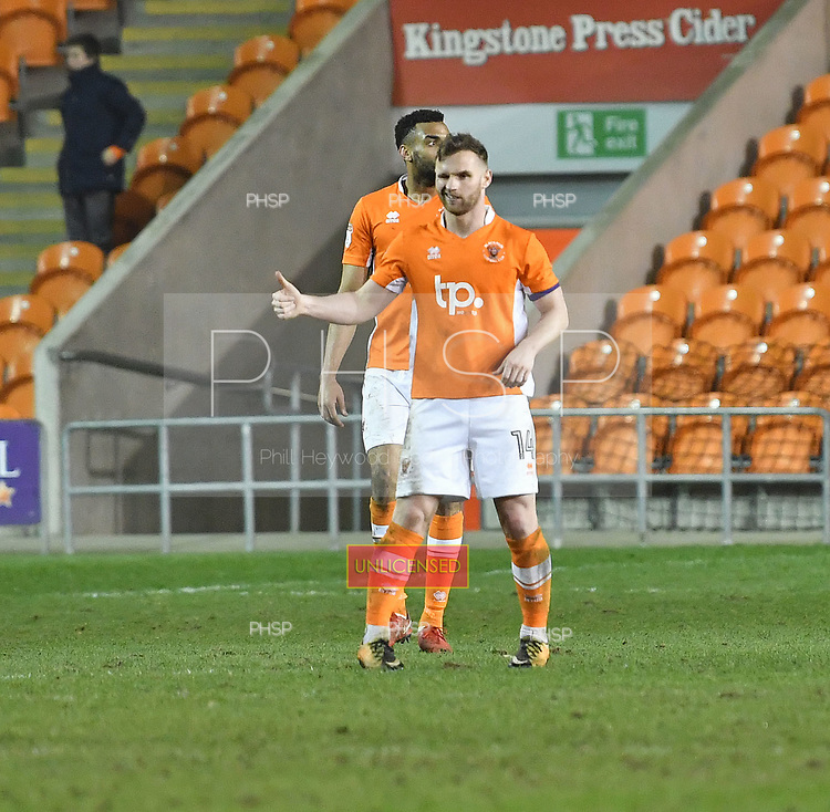 10/04/2018 Sky Bet League 1 Blackpool v Northampton Town<br />