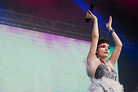 21st July 2019: Churches play on day 3 of the 2019 Latitude Festival at Henham Park, Suffolk.