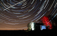 Star and Star Trails, Co.Cork