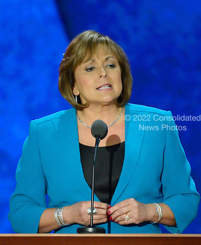 Governor Susana Martinez (Republican of New Mexico) makes remarks at the 2012 Republican National Convention in Tampa Bay, Florida on Wednesday, August 29, 2012.  .Credit: Ron Sachs / CNP.(RESTRICTION: NO New York or New Jersey Newspapers or newspapers within a 75 mile radius of New York City)