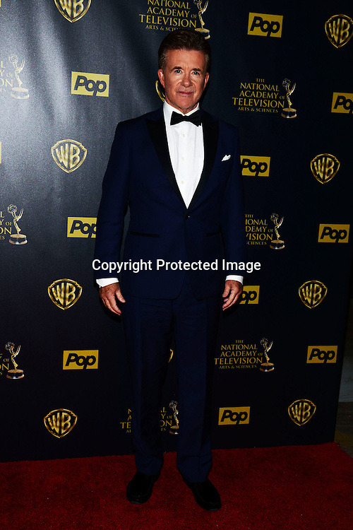 Alan Thicke attends the 42nd Annual Daytime Emmy Awards Press Room on April 26, 2015 at Warner Bros Studio in Burbank, California, USA