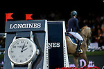 Katharina Offel of Ukraine riding Pin Up Ouistreham in action during the Laiterie De Montaigu Trophy as part of the Longines Hong Kong Masters on 14 February 2015, at the Asia World Expo, outskirts Hong Kong, China. Photo by Victor Fraile / Power Sport Images