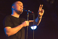 Maverick Sabre plays a headline gig at The Arches in Glasgow on Thursday 1st March 2012... .Pictures:© Peter Kaminski/Universal News and Sport (Europe)2012