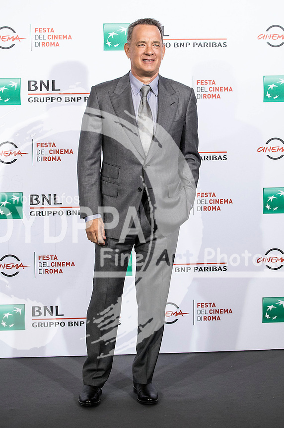 Tom Hanks beim Photocall zum 'Close Encounters' Event auf dem 11. Internationalen Filmfestival von Rom / Festa del Cinema di Roma 2016 im Auditorium Parco della Musica. Rom, 13.10.2016