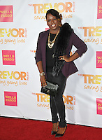 Glee star Alex Newell at the 2014 TrevorLIVE Los Angeles Gala at the Hollywood Palladium.<br /> December 7, 2014  Los Angeles, CA<br /> Picture: Paul Smith / Featureflash