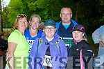 Teresa Grimes, Listowel, Jill McCann, Aine O'Shea Tralee, David Norwood Belfast and Anna Stack Ballyduff at the Killarney Marathon on Saturday morning