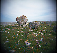 "The Burren is located in County Clare, Ireland. It's known for it's distinctive cracked limestone. The name Burren comes from the irish word ""bhoireann"" meaning stony place. (Photo by Pat Shannahan)"