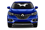 Car photography straight front view of a 2019 Renault Kadjar Black-Edition 5 Door SUV