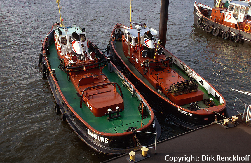 Deutschland, Hamburg, im Hafen