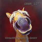 Simon, REALISTIC ANIMALS, REALISTISCHE TIERE, ANIMALES REALISTICOS, paintings+++++Card_AdamB_LoveMeDo,GBWR107,#a#, EVERYDAY,horse