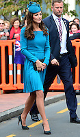 Kate, Duchess of Cambridge & Prince William attend a church service in Dunedin - New Zealand