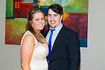 Enjoying the NAGS College Ball at Ballyroe Heights on Thursday were Edel O'Connell and Kevin Kelleher