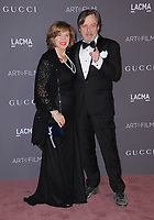 04 November  2017 - Los Angeles, California - Marilou York, Mark Hamill. 2017 LACMA Art+Film Gala held at LACMA in Los Angeles. <br /> CAP/ADM/BT<br /> &copy;BT/ADM/Capital Pictures