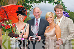 LADIES DAY: The winners of the Best Dressed Lady competition at Killarney Races Ladies Day last Thursday pictured with Keith Duffy.Marilyn Murphy (Killarney) 1st, Lisa Duffy