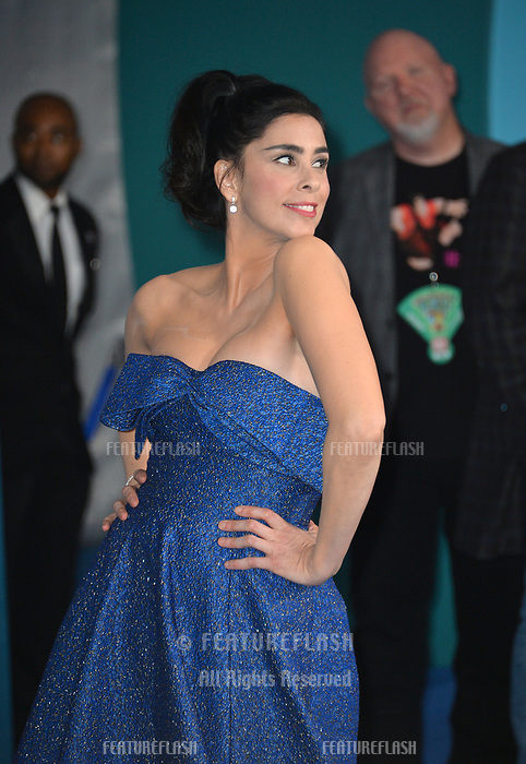 LOS ANGELES, CA. November 05, 2018: Sarah Silverman at the world premiere of &quot;Ralph Breaks The Internet&quot; at the El Capitan Theatre.<br /> Picture: Paul Smith/Featureflash