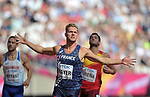 Kevin MAYER (FRA) in the mens decathlon 100m. IAAF world athletics championships. London Olympic stadium. Queen Elizabeth Olympic park. Stratford. London. UK. 11/08/2017. ~ MANDATORY CREDIT Garry Bowden/SIPPA - NO UNAUTHORISED USE - +44 7837 394578