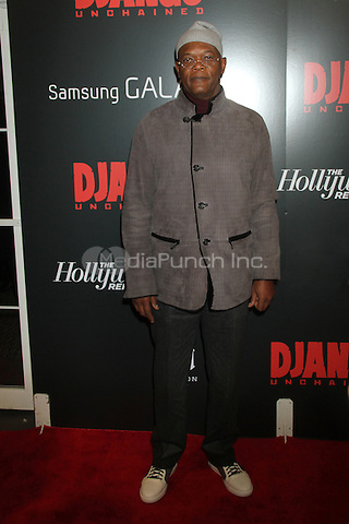 NEW YORK, NY - DECEMBER 11: Samuel L. Jackson at the Screening Of 'Django Unchained' at  the Ziegfeld Theater on December 11, 2012 in New York City.Credit: RW/MediaPunch Inc.