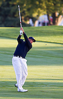 Phil Mickelson (Team USA) on the 3rd fairway during the Saturday morning Foursomes at the Ryder Cup, Hazeltine national Golf Club, Chaska, Minnesota, USA.  01/10/2016<br /> Picture: Golffile | Fran Caffrey<br /> <br /> <br /> All photo usage must carry mandatory copyright credit (&copy; Golffile | Fran Caffrey)