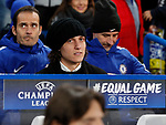 David Luiz of Chelsea not named in the squad during the Champions League Group C match at the Stamford Bridge, London. Picture date: December 5th 2017. Picture credit should read: David Klein/Sportimage