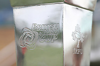 Close up view of the British and Irish Cup ahead of the British & Irish Cup Final match between Ealing Trailfinders and Leinster Rugby at Castle Bar, West Ealing, England  on 12 May 2018. Photo by David Horn / PRiME Media Images.
