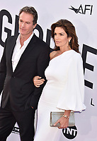 HOLLYWOOD, CA - JUNE 07: Rande Gerber (L) and Cindy Crawford arrive at the American Film Institute's 46th Life Achievement Award Gala Tribute To George Clooney at the Dolby Theatre on June 7, 2018 in Hollywood, California.<br /> CAP/ROT/TM<br /> &copy;TM/ROT/Capital Pictures
