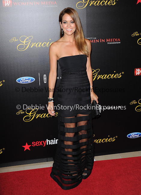 Brooke Burke-Charvet attends The Alliance for Women in Media Foundation's 39th Annual Gracie Awards, Honoring Exemplary Women in Media in Beverly Hills, California on May 20,2014                                                                               © 2014 Hollywood Press Agency