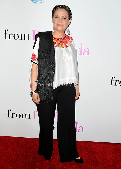 WWW.ACEPIXS.COM . . . . . ....Janauary 18 2011, Los Angeles....Actress Adriana Barraza arriving at the premiere of 'From Prada To Nada' at the LA Live Regal Cinemas on January 18, 2011 in Los Angeles, CA. ....Please byline: PETER WEST - ACEPIXS.COM....Ace Pictures, Inc:  ..(212) 243-8787 or (646) 679 0430..e-mail: picturedesk@acepixs.com..web: http://www.acepixs.com