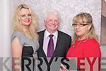 Pictured at the Kerins ORahillys social in the Earl of Desmond Hotel on Saturday night, from left: Erin Ronan, Peter Ronan and Sheila Ronan from the Kerries.