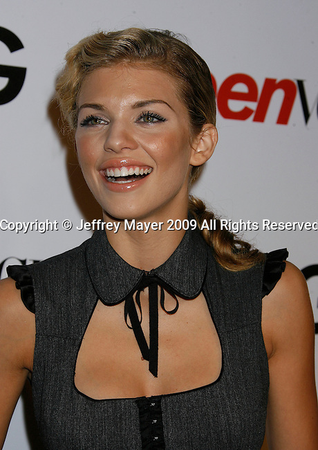 HOLLYWOOD, CA. - September 25: AnnaLynne McCord arrives at the 7th Annual Teen Vogue Young Hollywood Party at Milk Studios on September 25, 2009 in Hollywood, California.
