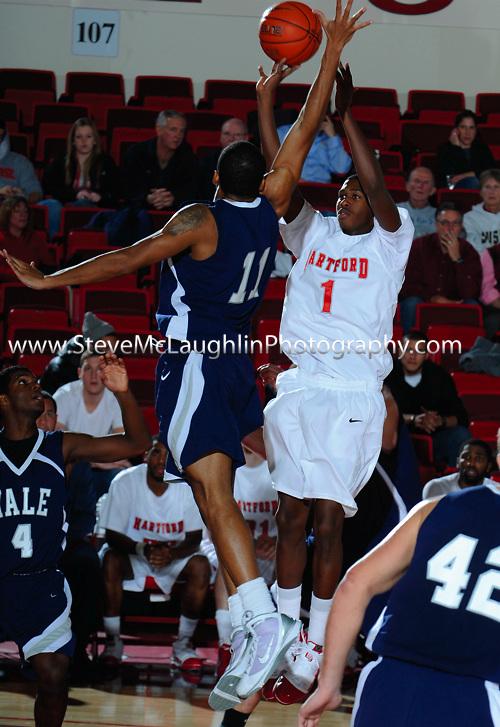 University of Hartford Hawks Men's Basketball host Yale University.
