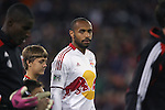 03 November 2012: New York's Thierry Henry (FRA). DC United played New York Red Bulls at RFK Stadium in Washington, DC in the first leg of their 2012 MLS Cup Playoffs Eastern Conference Semifinal series. The game ended in a 1-1 tie.