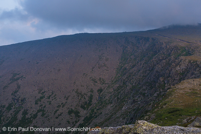 Te Great Gulf Headwall on Mount Washington at dusk from Mount Clay in the White Mountains, New Hampshire USA.