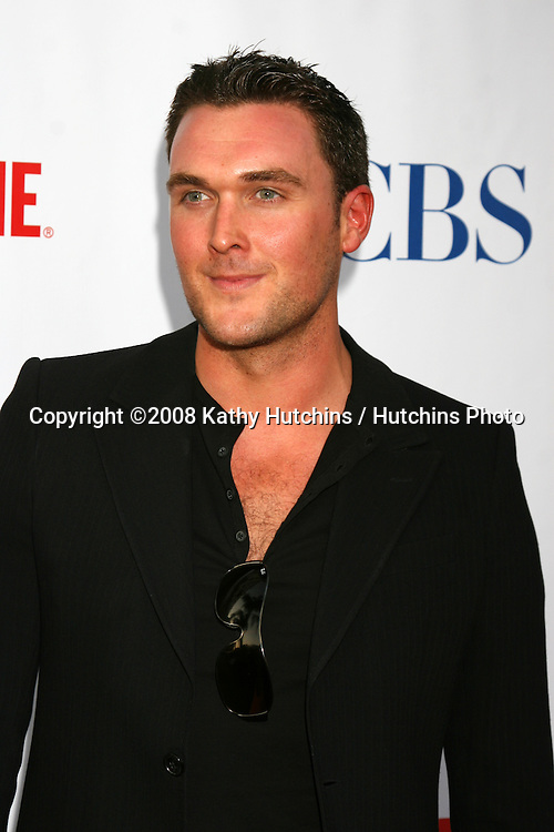 Owain Yeoman arriving at the CBS TCA Summer 08 Party at Boulevard 3 in Los Angeles, CA on.July 18, 2008.©2008 Kathy Hutchins / Hutchins Photo .