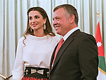 25.05.2015; Amman, Jordan: KING ABDULLAH, QUEEN RANIA, CROWN PRINCE HUSSEIN AND PRINCESS SALMA<br />attended a ceremony to celebrate the 69th independence anniversary.<br />Mandatory Photo Credit: &copy;Royal Hashemite Court/NEWSPIX INTERNATIONAL<br /><br />**ALL FEES PAYABLE TO: &quot;NEWSPIX INTERNATIONAL&quot;**<br /><br />PHOTO CREDIT MANDATORY!!: NEWSPIX INTERNATIONAL(Failure to credit will incur a surcharge of 100% of reproduction fees)<br /><br />IMMEDIATE CONFIRMATION OF USAGE REQUIRED:<br />Newspix International, 31 Chinnery Hill, Bishop's Stortford, ENGLAND CM23 3PS<br />Tel:+441279 324672  ; Fax: +441279656877<br />Mobile:  0777568 1153<br />e-mail: info@newspixinternational.co.uk