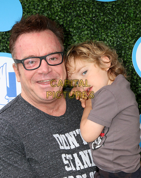 Tom Arnold, Jax Copeland Arnold at Safe Kids Day at Smashbox Studios on April 24, 2016 in Culver City, California. <br /> CAP/MPI/DE<br /> &copy;DE/MPI/Capital Pictures