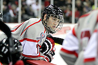 Defenseman Michael Young netted UNO's first goal of the game. Denver beat Nebraska-Omaha 4-2 Saturday night at Qwest Center Omaha. (Photo by Michelle Bishop)