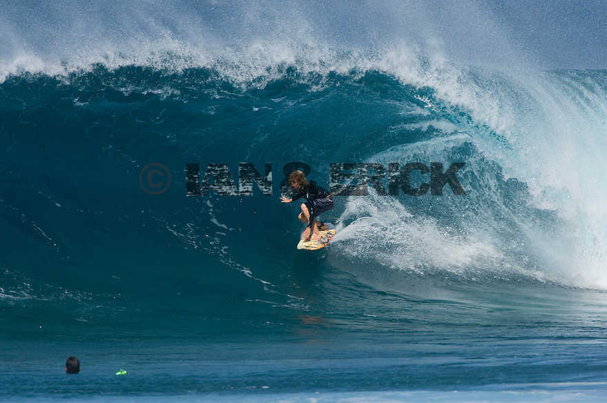Jon Jon Florence at Off the Wall on the North Shore in Hawaii